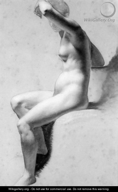 Female Nude Raising Her Arm4 - Pierre-Paul Prud