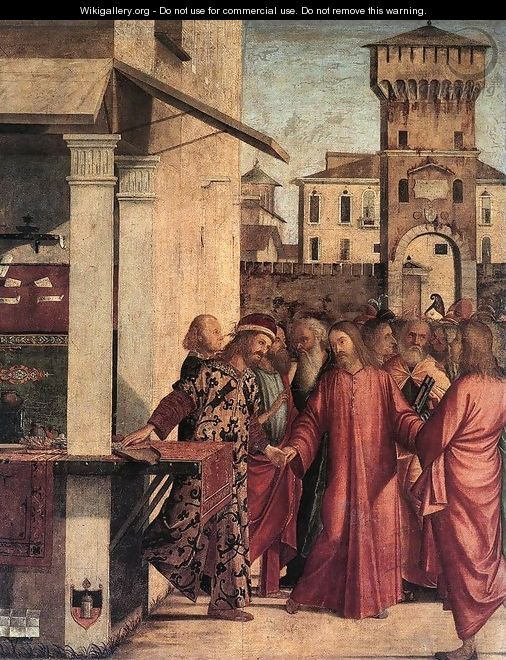 The Calling of Matthew 1502 - Vittore Carpaccio