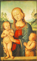 Madonna with Child and Little St John 1505-10 - Pietro Vannucci Perugino