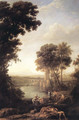 Landscape with the Finding of Moses 1637-39 - Claude Lorrain (Gellee)