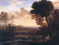 Landscape with Paris and Oenone 1648 - Claude Lorrain (Gellee)