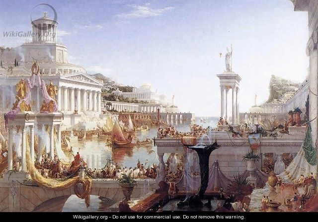 The Consummation of the Empire 1836 - Thomas Cole