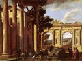 Architectural View with Two Arches, 1647 - Viviano Codazzi