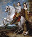 Equestrian Portrait of a Couple - Gonzales Coques