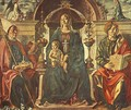 Madonna with the Child and Saints 1474 - Francesco Del Cossa