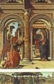 Annunciation and Nativity (Altarpiece of Observation) 1470 - Francesco Del Cossa