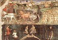Allegory of May- Triumph of Apollo (detail) 1476-84 - Francesco Del Cossa