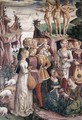 Allegory of April- Triumph of Venus (right view)1476-84 - Francesco Del Cossa