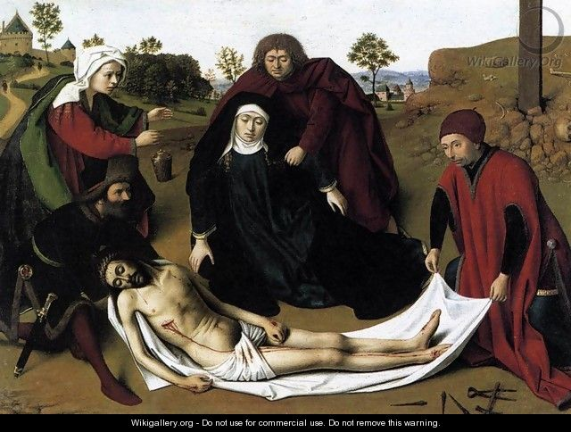 The Lamentation 1450s - Petrus Christus