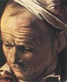 Supper at Emmaus (detail 1) 1606 - Caravaggio