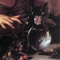 Boy Bitten by a Lizard (detail) c. 1594 - Caravaggio
