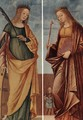St Catherine of Alexandria and St Veneranda c. 1500 - Vittore Carpaccio