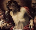 Christ Wearing the Crown of Thorns, Supported by Angels 1585-87 - Annibale Carracci