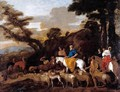 Jacob Leading the Flocks of Laban c. 1632 - Giovanni Benedetto Castiglione