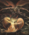 The Great Red Dragon and the Woman Clothed with the Sun 1805-1810 - William Blake
