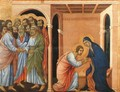 Parting from St John 1308-11 - Duccio Di Buoninsegna