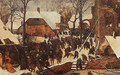 The Adoration of the Kings in the Snow 1567 - Pieter the Elder Bruegel