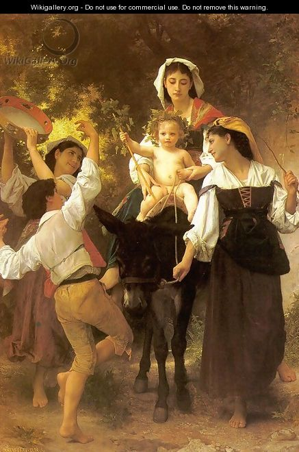 Return from the Harvest 1878 - William-Adolphe Bouguereau