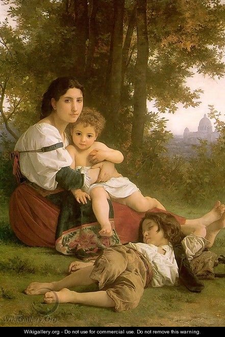 Rest 1879 - William-Adolphe Bouguereau
