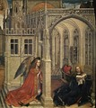 Annunciation c. 1430 - (Robert Campin) Master of Flémalle