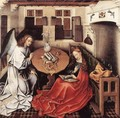 Annunciation 1420s - (Robert Campin) Master of Flémalle