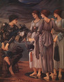 The Arming of Perseus 1885 - Sir Edward Coley Burne-Jones