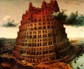 The Little Tower of Babel c. 1563 - Pieter the Elder Bruegel