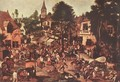 Village Feast - Pieter The Younger Brueghel