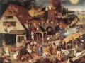 Proverbs - Pieter The Younger Brueghel