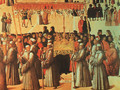 Procession in the Piazza di San Marco (detail) 1496 - Gentile Bellini