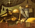 Still-Life with Musical Instruments (undated) - Evaristo Studio of Baschenis