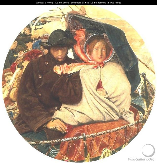 The Last of England 1852-55 - Ford Madox Brown
