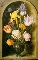 Flowers in a Glass Vase, approx. 1619 - Ambrosius the Elder Bosschaert