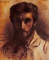 Self Portrait 1858 - Léon Bonnat