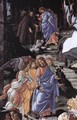 Three Temptations of Christ (detail 1) 1481-82 - Sandro Botticelli (Alessandro Filipepi)