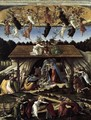 The Mystical Nativity c. 1500 - Sandro Botticelli (Alessandro Filipepi)