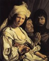 Jael, Deborah and Barak 1635 - Salomon de Bray