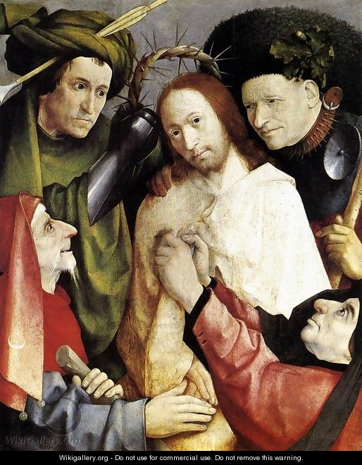 Christ Mocked (Crowning with Thorns) 1495-1500 - Hieronymous Bosch