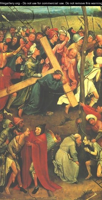 Christ Carrying the Cross 1480s - Hieronymous Bosch