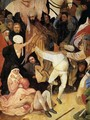 Triptych of Haywain (central panel) (detail 2) 1500-02 - Hieronymous Bosch