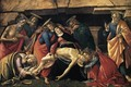 Lamentation over the Dead Christ with Saints c. 1490 - Sandro Botticelli (Alessandro Filipepi)