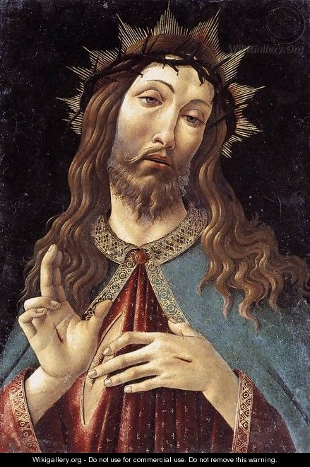 Christ Crowned with Thorns c. 1500 - Sandro Botticelli (Alessandro Filipepi)