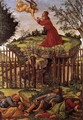 Agony in the Garden c. 1500 - Sandro Botticelli (Alessandro Filipepi)