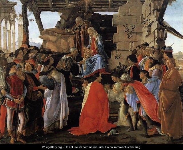 Adoration of the Magi c. 1475 - Sandro Botticelli (Alessandro Filipepi)