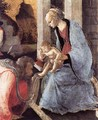 Adoration of the Magi (detail 2) 1465-67 - Sandro Botticelli (Alessandro Filipepi)