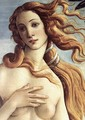 The Birth of Venus (detail 3) c. 1485 - Sandro Botticelli (Alessandro Filipepi)