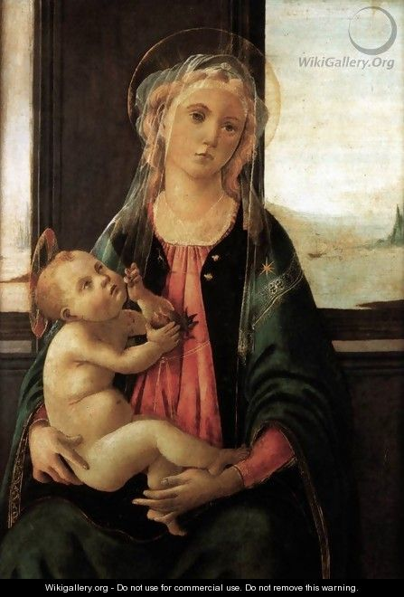 Madonna of the Sea c. 1477 - Sandro Botticelli (Alessandro Filipepi)