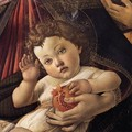 Madonna of the Pomegranate (detail) c. 1487 - Sandro Botticelli (Alessandro Filipepi)