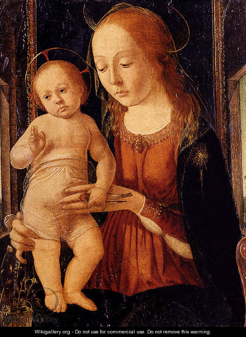 Madonna and Child 1490s - Biagio D