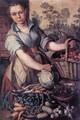 Vegetable Seller - Joachim Beuckelaer